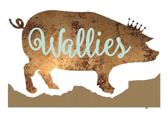 Het logo van Wallies